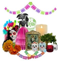 """mi Altar de Muertos"" by brensbenze ❤ liked on Polyvore"