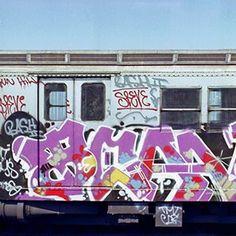 NYC CITY SUBWAY GRAFFITI PHOTO BY HENRY CHALFANT www.henrychalfant.com #sprayitdontsayit Famous Graffiti Artists, Graffiti History, Krylon Spray Paint, American Graffiti, Graffiti Tagging, Wildstyle, Nyc Subway, Public Art, Urban Art