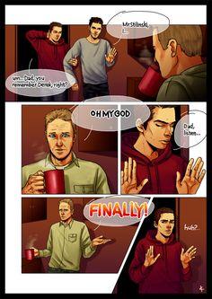 Teen Wolf FanArt: The Truth by NinaKask.deviantart.com on @deviantART