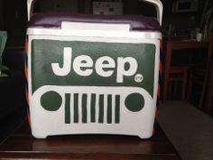 JEEP cooler. LOVE!