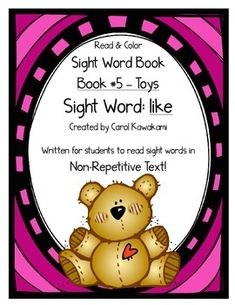 Sight word books - This sight word book was written to practice the basic sight…