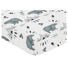 Sweet Jojo Designs Fitted Crib Sheet - Bear Mountain