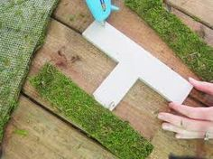 DIY for Moss Letters
