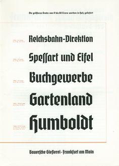 flickr.com — Bauersche Gießerei, Frankfurt a.M.: Element. Eine Schrift, die Tradition und Gegenwart vereining