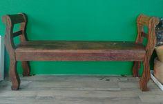 Namoradeira móveis rústicos Outdoor Furniture, Outdoor Decor, Bench, Rustic, Home Decor, Country Primitive, Decoration Home, Room Decor, Retro
