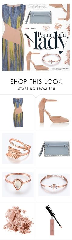 """""""Like a Lady"""" by paycustom-fashion ❤ liked on Polyvore featuring Inez & Vinoodh, Gianvito Rossi, Valentino and Bobbi Brown Cosmetics"""