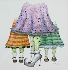 Hey, I found this really awesome Etsy listing at https://www.etsy.com/listing/241310881/witch-feet-watercolor-art-whimsical-art