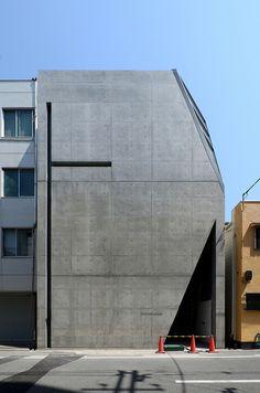 Kamigata Storyteller (Rakugo) Association Hall, Osaka desigend by Tadao Ando