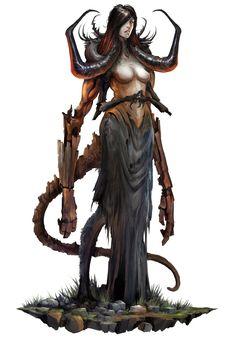 Wicked Cursed Creature by Eyardt.deviantart.com on @deviantART