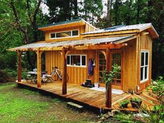 """284 Likes, 3 Comments - Alternative Luxury (@altluxury) on Instagram: """"I have an eccentric uncle who built a tiny house and loves it. If you value freedom over debt,…"""""""
