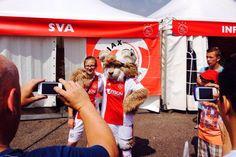 Weet je wie er ook is? #Lucky #Ajax