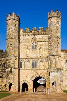 Battle Abbey was built on the site of the 1066 Battle of Hastings