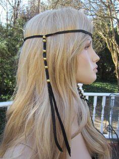 /1-leather-boho-headband-hair-wrap-with