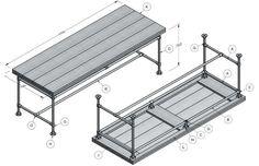 Steigerplanken tafel nodig? Klik hier voor een gratis steigerhoutenplanken tafel.