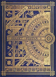Poems by Thomas Hood. Illustrated by Birkey Foster. E. Moxon. Son & Co., London, 1871.