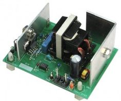 150 W LLC High-Voltage DC-DC Resonant Converter