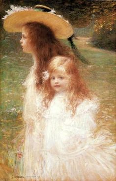 Charles Lucien Leandre (1862–1934, French); I Am A Child (Children in Art History)