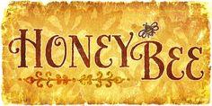 HoneyBee by Laura Worthington - http://www.myfonts.com/fonts/laura-worthington/honeybee/?refby=paperdahlia