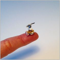 Miniature 1/4 1:48 Quarter Inch Scale Herring Gull Seagull Seaside Bird On News Paper Of Fish & Chips Food For Doll House OOAK by IckleFingz on Etsy
