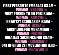 Want to know about women's rights in Islam? Check out our FREE eBook 'Women in Islam' -