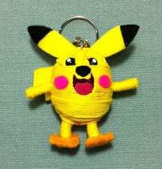 Hey, I found this really awesome Etsy listing at https://www.etsy.com/listing/187817213/pikachu-pokemon-string-doll-voodoo
