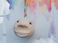Whimsical Hand Sculpted Christmas Ornaments by MagpiesandMimsy, $16.00