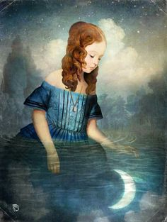 """Drowned Moon"", Christian Schloe"