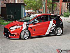 Ford Fiesta Modified, Daihatsu Terios, Ford Motorsport, Ford Fiesta St, Suzuki Swift, Trailer, Car Ford, Car Wrap, Ford Focus
