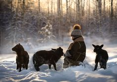 """photographer Elena Shumilova - """"This Mother does it Again. She is Still Photographing Her Kids with Animals"""" by Jordan Gardone"""
