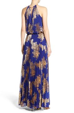 Gold, patterned & pleated! @nordstrom #nordstrom
