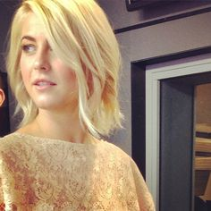 Just obsessing over julianne hough's hair...