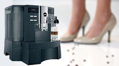 Jura Impressa XS90 Uw espresso, café crème, caffè latte (koffie verkeerd), cappuccino of latte macchiato bereidt met verse melk - zonder dat u het kopje hoeft te verplaatsen.