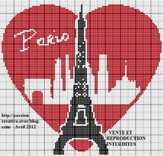 1000 images about cross stitch eiffel tower on pinterest eiffel towers tour eiffel and paris. Black Bedroom Furniture Sets. Home Design Ideas