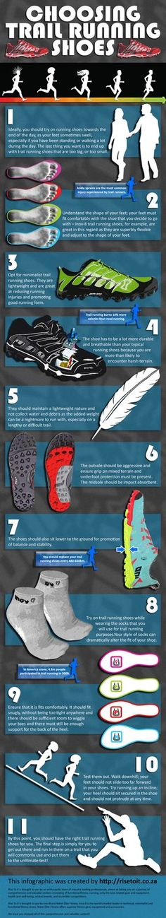 #Sport+#Infographics+-+Choosing+Trail+Running+Shoes+#Infografia