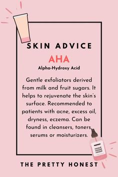 AHA and BHA: two ingredients more and more appearing in our skincare products. But what exactly are these additives and how they can improve our skin? Homemade Skin Care, Diy Skin Care, Skin Care Tips, Organic Skin Care, Natural Skin Care, Skincare For Combination Skin, Skin Secrets, Oral Health, Health Care