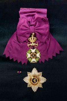 Order of Leopold (naval), Grand Cordon