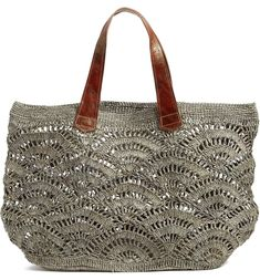 Free shipping and returns on Mar y Sol Tulum Tote at Nordstrom.com. <p>Crocheted raffia enhances the earthy style and texture of a spacious tote that's perfect for the beach or marketplace.</p>