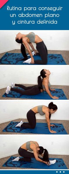 21 Ideas fitness mujer gym abdomen plano for 2019 Yoga Fitness, Yoga Gym, Do Exercise, Excercise, Routine, Pilates Video, Yoga For Weight Loss, Health And Fitness Tips, Gym Time