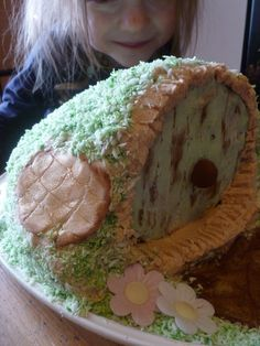 Make A Hobbitty Cake! #hobbit