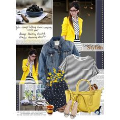A fashion look from March 2013 featuring AR SRPLS t-shirts, H&M jackets and Sessùn capris. Browse and shop related looks.