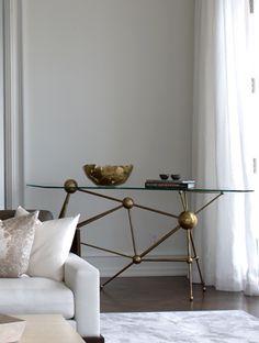 The table --- Deborah Oppenheimer Table Furniture, Cool Furniture, Furniture Design, Furniture Inspiration, Interior Inspiration, Interior Architecture, Interior And Exterior, Interior Decorating, Interior Design