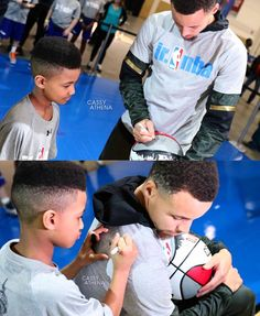 Steph and fan