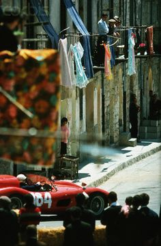 Racing  at the Targa Florio. How it used to be!