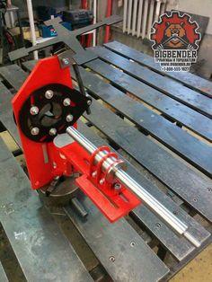 BigBender TN76 tubing notcher | Торцеватель для труб BigBender TN76