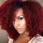 21 Amazing Dark Red Hair Color Ideas Page 2 of 2 StayGlam Dark Red Hair, Hair Color Dark, Black Hair, Burgundy Hair, Color Red, Red Hair Extensions, Curly Hair Styles, Natural Hair Styles, Pelo Natural