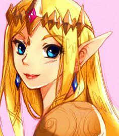 Queen Zelda by ruistyfles