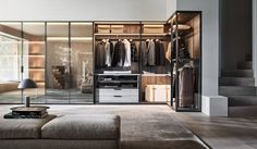 """For his first flagship design since becoming its creative director, Vincent van Duysen has created a space for Molteni&C that feels like a """"secluded home from home""""."""
