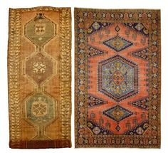 23 X 98 Lovely Genuine S Antique Persian Hamadan Hand Knotted Wool Rug Runner
