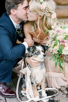 pretty wedding pet photos #wedding #weddingpet #pets #saphireeventgroup