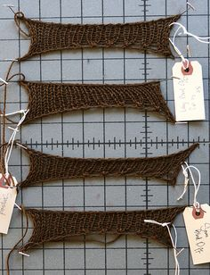 Stretchy Bind Off Comparisons